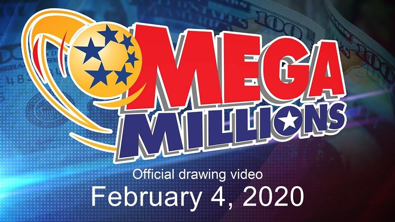 Mega Millions Drawing For February 4 2020 Youtube