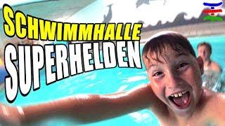 Nur Blödsinn machen in der Schwimmhalle 😁 TipTapTube Family 👨👩👦👦