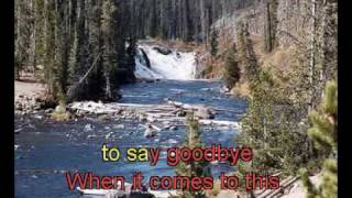 Karaoke video of Hurt - Christina Aguilera