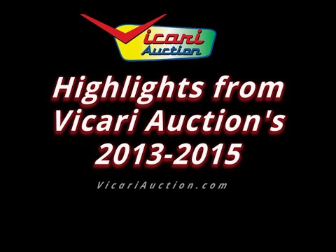 Vicari Auction's Highlights 2013 to 2015 HD Full Video