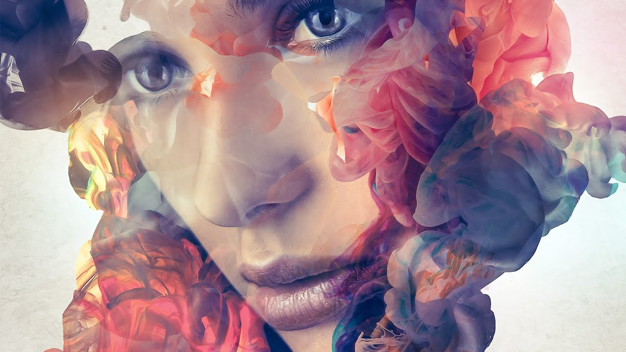 Ink portrait photoshop tutorial demo youtube baditri Image collections