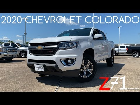 2020 Chevrolet Colorado Z71: Start-up & Review