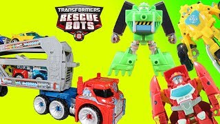 Transformers Rescue Bots Optimus Prime Rescue Trailer Brings the Best Surprise Magic!