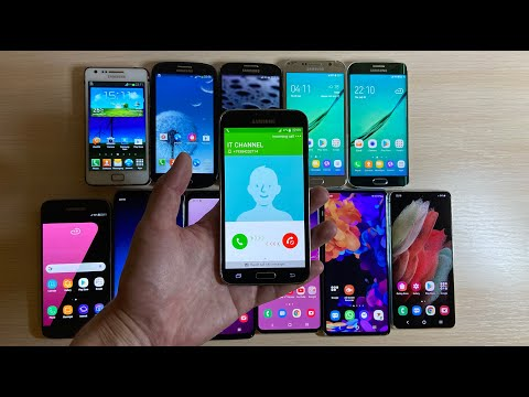 Over The Horizon Evolution (2011-2021) Samsung Galaxy S
