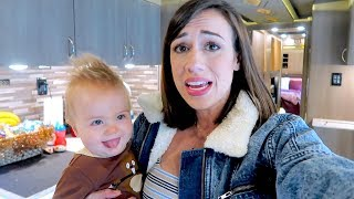 Download LIVING ON A BUS WITH A BABY! -  BUS TOUR! Mp3 and Videos
