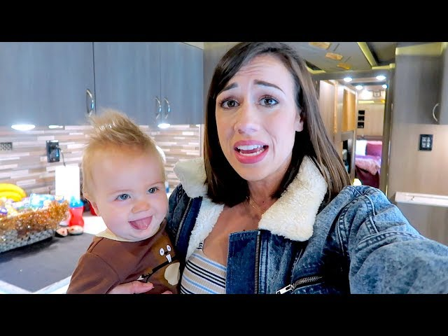 LIVING ON A BUS WITH A BABY! -  BUS TOUR!