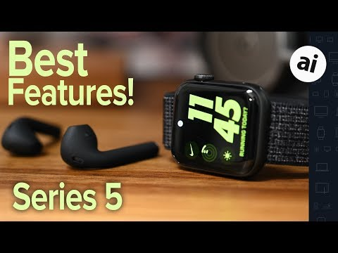 Top Features Of The Nike Apple Watch Series 5!
