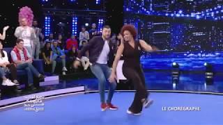 رقصة نضال السعدي و فرح قابسي  Nidhal VS FarahGabsi نــــهار_الأحد_ما_يهمّـــك_فـــي_حدّ