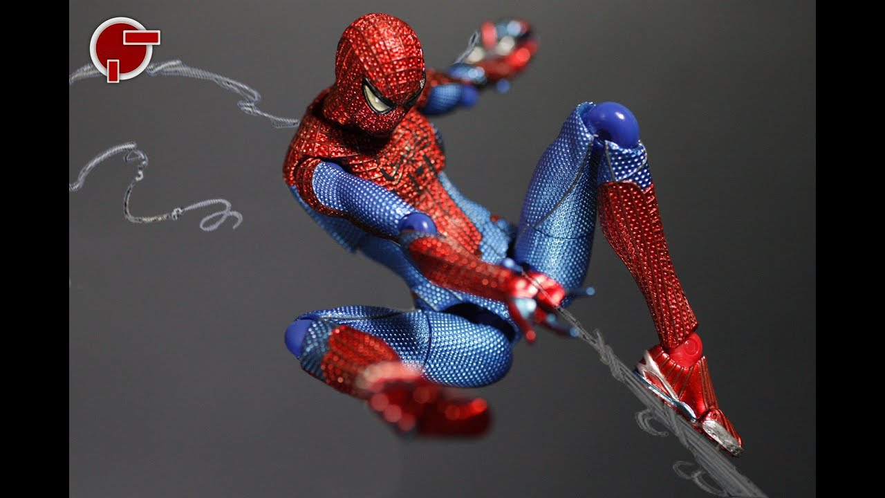 the amazing spider man web shooters