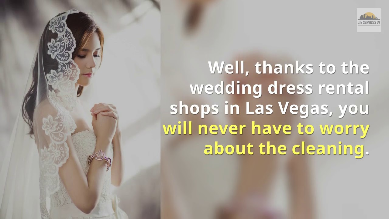 Las Vegas Wedding Dresses Rental Youtube