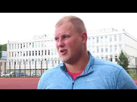 LSU studentas, pasaulio čempionas - Andrius Gudžius