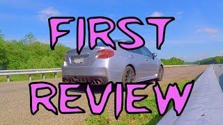 My First Car Review! - 2015 Subaru WRX