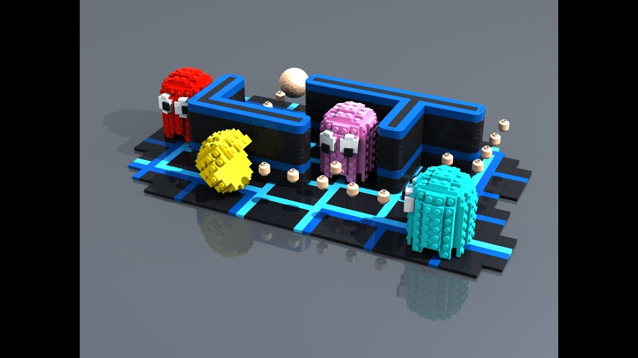 Lego Pac-Man the Chase 9 - YouTube