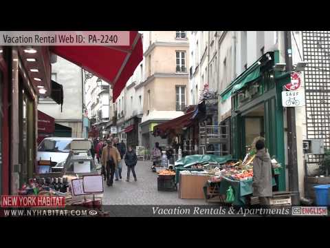 Paris, France - Video Tour Of A Vacation Rental On Rue Mouffetard