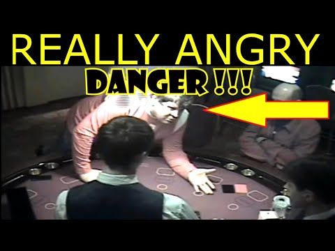 MUST SEE ! Russian FREAKOUT Again Goes CRAZY In Casino - Black Jack LIVE
