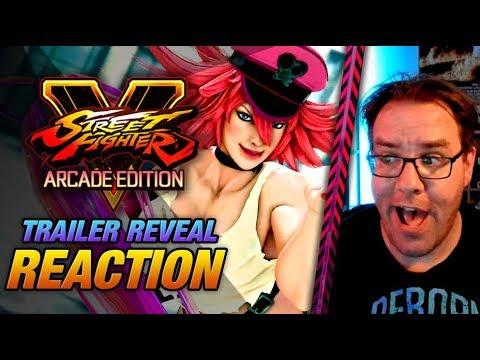 REACTION: Poison Evo 2019 leak trailer! (Street Fighter V Arcade Edition) |