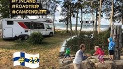 Camping in Finnland ⛺️Meerblick CP: Siikaranta Camping - Finnland Wohnmobil Rundreise #22