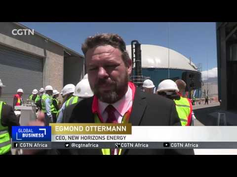 Africa's first waste to gas plant opens in Cape Town