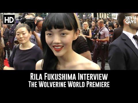 Rila Fukushima   The Wolverine World Premiere