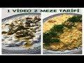 Bir Mp3da İKİ PRATİK MEZE TARİFİ/ Havuçlu Kabaklı Meze/ Mantarlı Yoğurtlu Meze