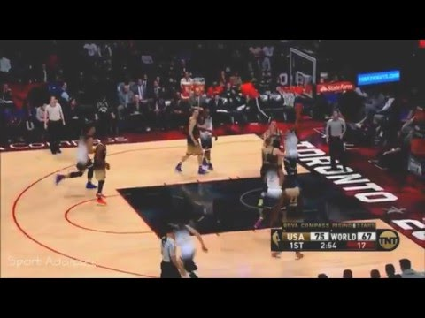 9d214c8d34fa D Angelo Russell 22pts 7Ast Highlights - Rising Stars USA vs WORLD
