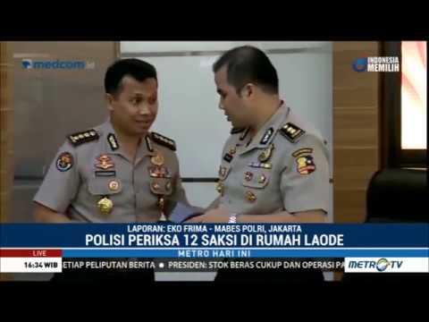 Polisi Periksa 12 Saksi Terkait Teror  Molotov di Rumah Laode Mp3