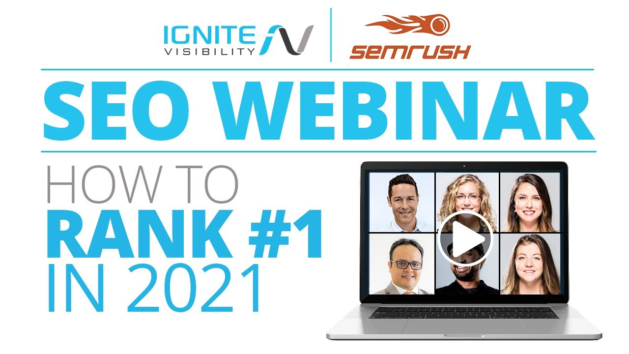 New SEO Webinar | How To Rank #1 In 2021