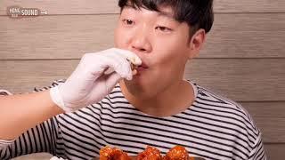 BBQ 시크릿양념 닭다리 먹방