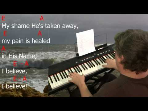 "Learn to Play ""My Redeemer Lives"" by Reuben Morgan. Key = E Major."