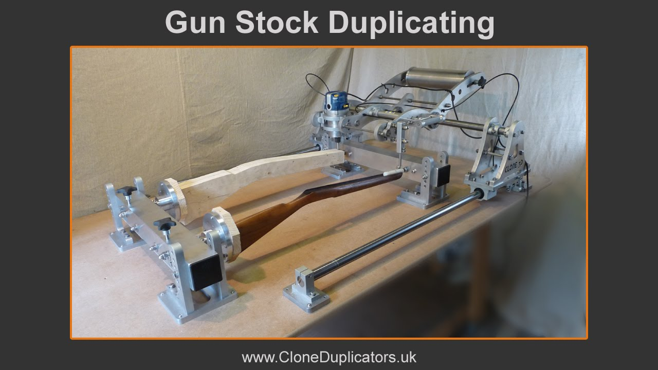 Clone a Gun Stock With This 3D Router