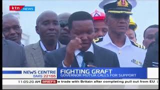 Governor Mutua on fighting graft