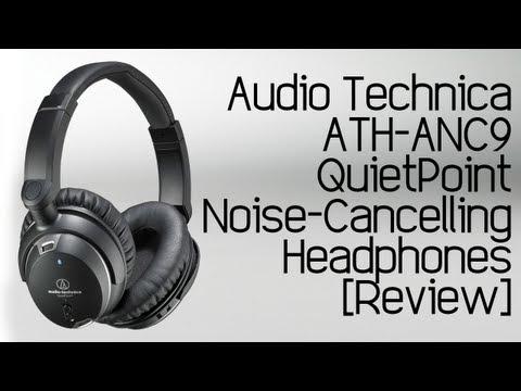 Audio Technica ATH-ANC9 QuietPoint Active Noise-Cancelling Headphones [Review]