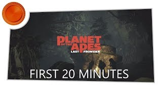Planet of the Apes: Last Frontier - 20 Mins Gameplay - Xbox One