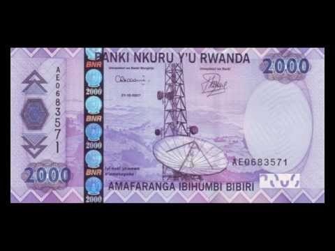 All Rwandan Franc Banknotes - 2003 to 2014 in HD