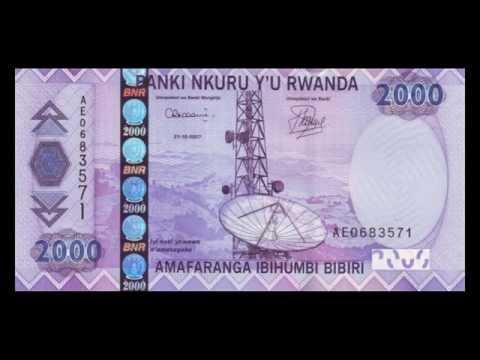 All Rwandan Franc Banknotes - 2003 To 2014 In HD