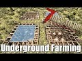 7 Days to Die - Underground Farming with BulletProof Glass - What works? (Alpha 16)