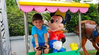 Ride on Car with Mickey Mouse