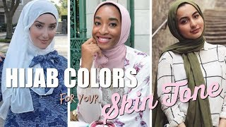 Perfect Hijab Colors For Your Skin Tone