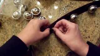 Dollar Tree Craft: Huge Jingle Bells, How to Make Sleigh Bells