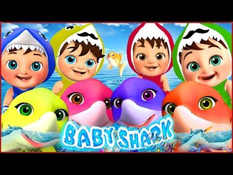 🔴-baby-shark-,-rain-rain-go-away-,-wheels-on-the-bus-,-happy-birthday-song---banana-cartoon-[hd]
