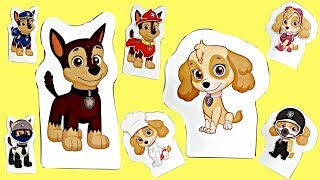 Paw Patrol Magnet Transforming Skye & Chase Outfits Unboxing