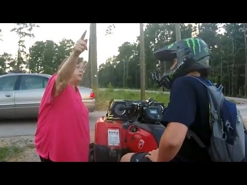 Dirt Bike Encounters with People & Cops 2017