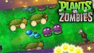 ☀️Easy no Sunflower in Sunny Day! | Plants vs. Zombies:  Hidden Mini Games (Secret Level)