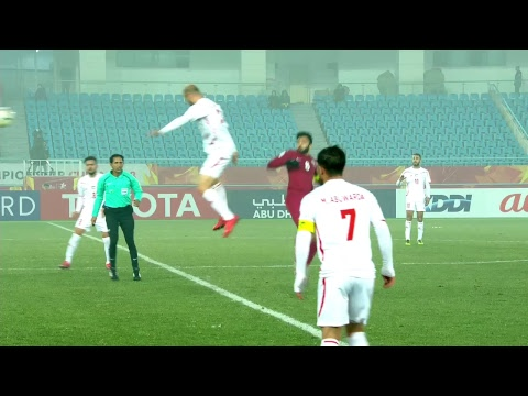 Qatar vs Palestine (AFC U23 Championship 2018: Quarter-finals)