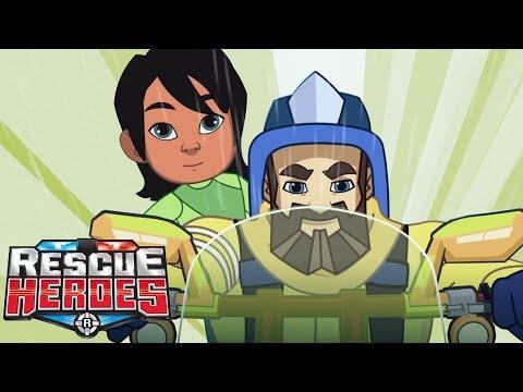 Rescue Heroes™ | Episodio 5 - Deslave De Montaña | Serie Animada Para Niños | Fisher-Price