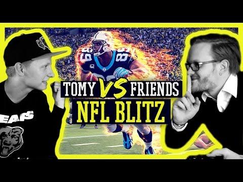NFL BLITZ: Aggro Arcade Football Action [Tomy VS Friends] - Deutsch/German/HD | Tomy Hawk TV