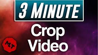 Shotcut : How t๐ Crop Video Tutorial