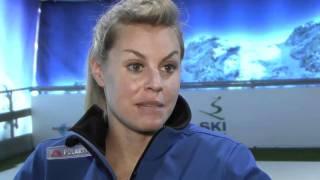 Chemmy Alcott - GB's No.1 Skier tries Skiplex, leaders in moving artificial ski slopes