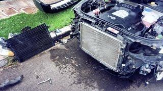 '01 Audi A4 B5 Front Bumper Removal