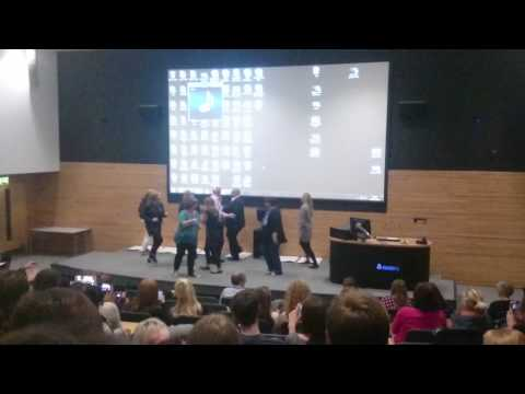 UoW Primary Ed lecturers perform Uptown Funk